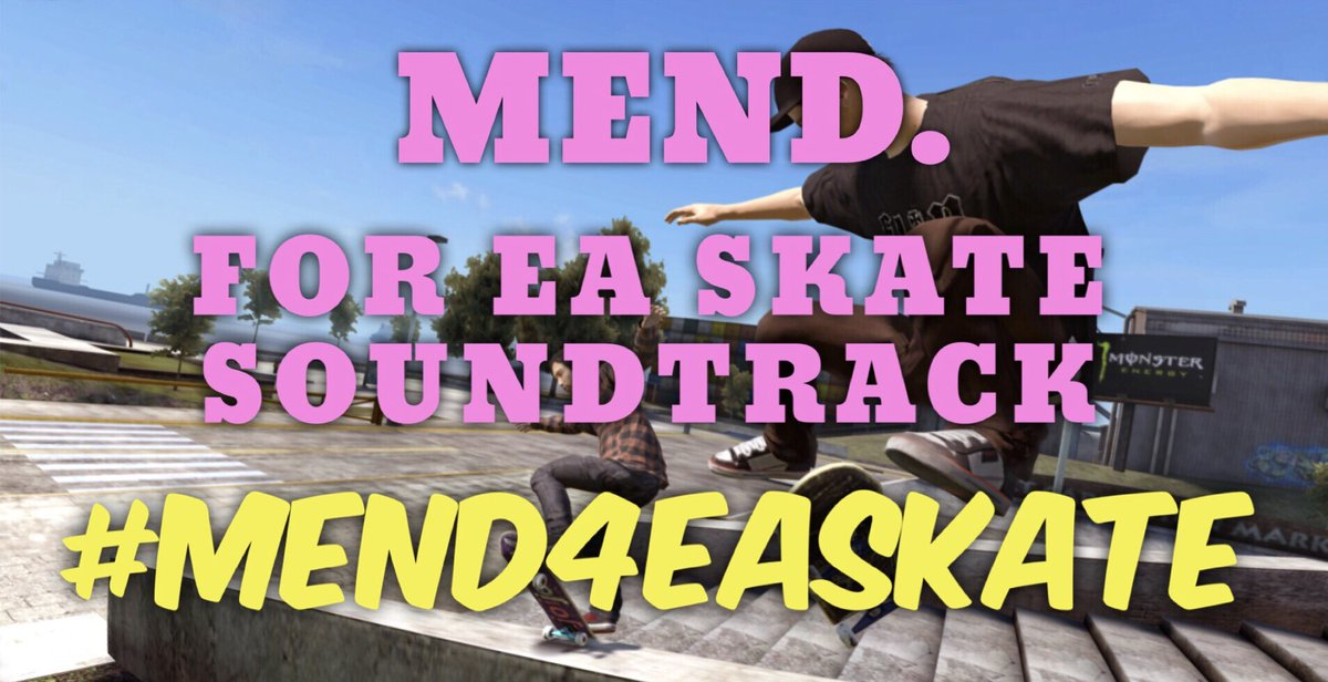 It is literally one of our dreams to be featured on a skateboarding game. So retweet this and make it happen for us. PLZ. #mend4EASkate #skate4 @SkateEA<br>http://pic.twitter.com/BmZVMEd5h9