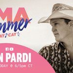 Image for the Tweet beginning: TODAY — don't miss @JonPardi's