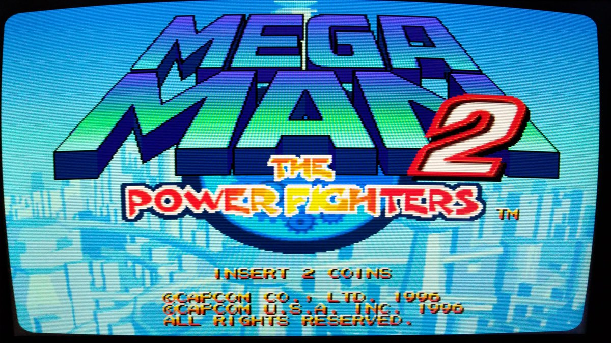 MegaMan 2 The Power Fighters / Arcade  Capcom 1996  1-2 Players  #Capcom #retrogamer #RETROGAMING #games #90s #arcade #juegos #gamers #retro #gamer #gamedev #StayHome #QuedateEnCasapic.twitter.com/BMvVIEOoAg