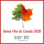 Image for the Tweet beginning: Bonne Fête du Canada! Nous