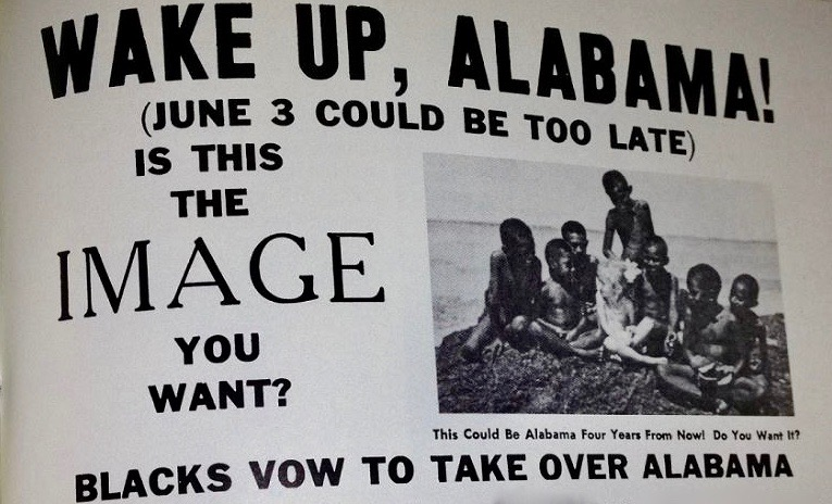1970 racist handbill circulated by supporters of George Wallace for second term as Alabama Governor: https://t.co/yd2Gnyj00C