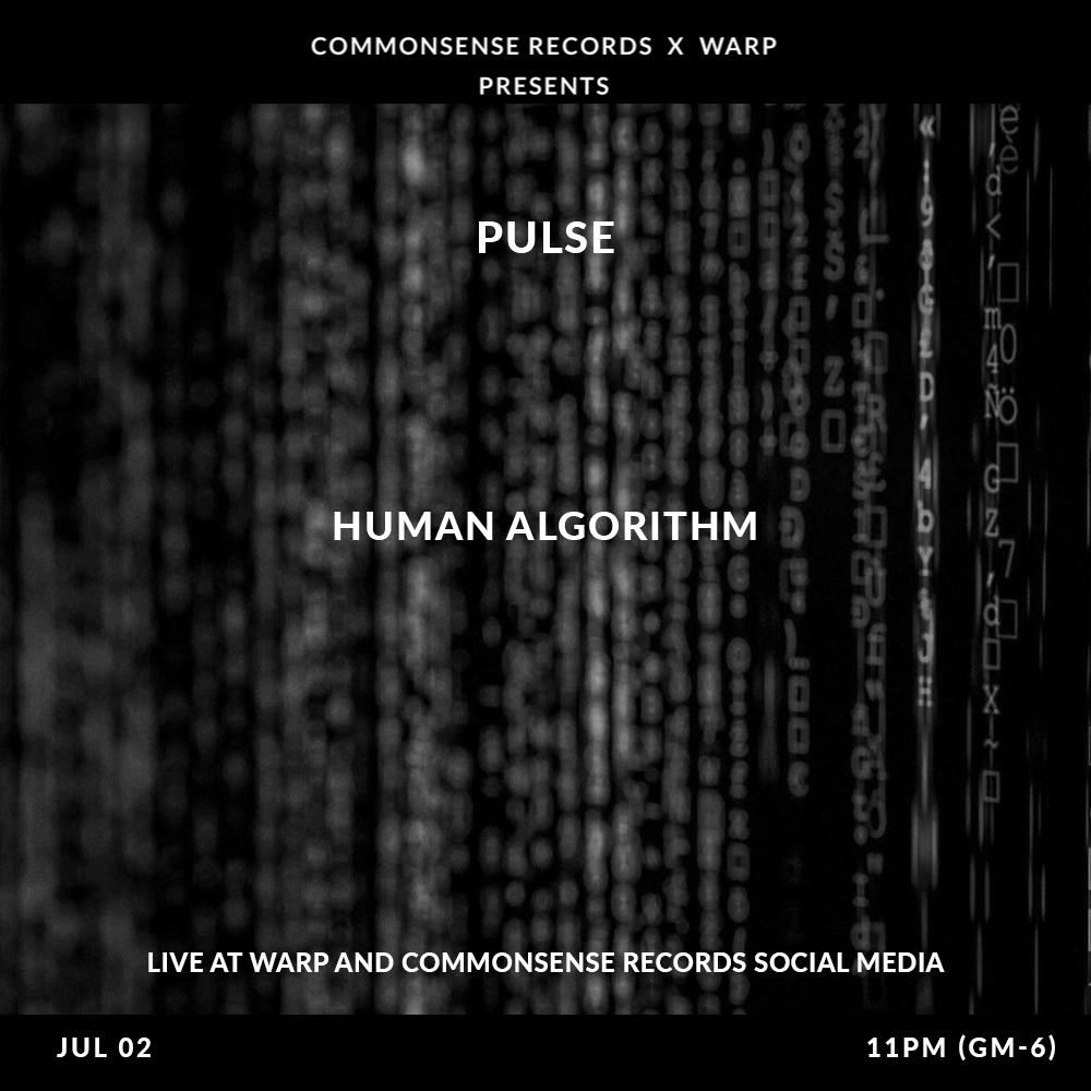 Esta semana en colaboración con @CommonSense_Rec.  #PULSE: Episode 13 - Human Algorithm.   La productora Yanine Zatarain  mostrará en un set de techno experimental que el caos no es una provocación, es una constante. Una nueva promesa nacional.  Jueves 2 a las 23:00.hrs en FBLive https://t.co/N7jrKNGfDx