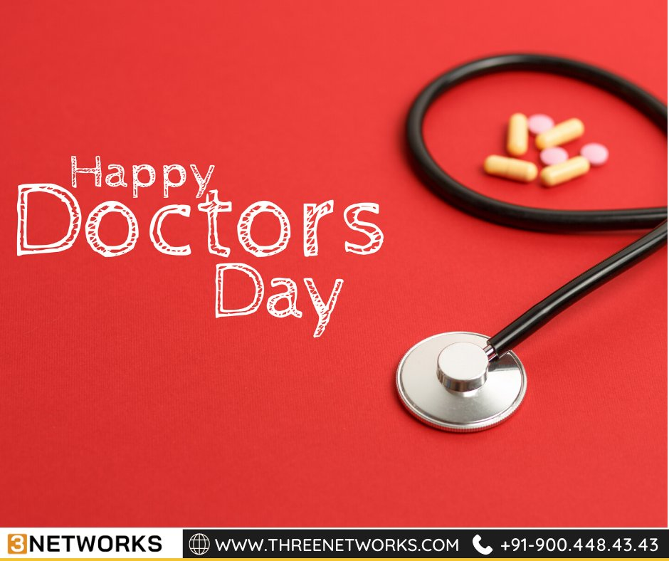 """Happy Doctor's Day"" to all the doctors who always put their patients first and do their best to gift health to their patients.  #happydoctorsday #3networks #mobileapplication #ui #ux #development #website #ecommerce #androidappdevelopment #websitedesign #programmer #socialmedia https://t.co/cEYGOGnBWC"