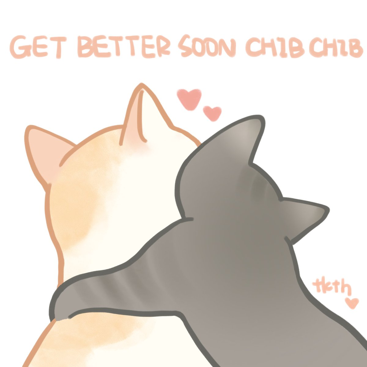 i did this…they're so cutehope chib get better soonpic.twitter.com/ACuznJdwsZ