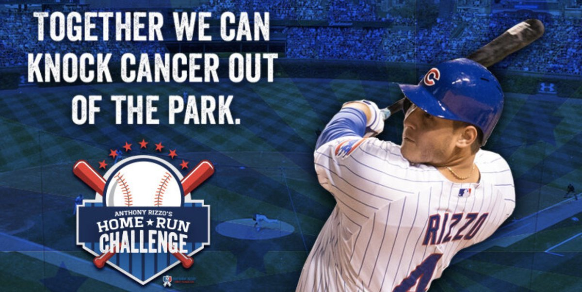 BASEBALL IS BACK! We have waited 4 months to say that!!! There is still time to join TEAM RIZZO. Sign up today and make every home run count! rizzo44.com/home-run-chall…