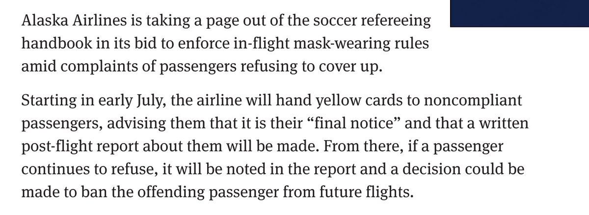 And if yellow cards don't work @AlaskaAir is going to put frowny-face stickers on their boarding passes. (Here's an idea: how about you kick these motherfuckers off your airplanes?)   https://t.co/WDfz3PWUGM https://t.co/tlgEMorWEu