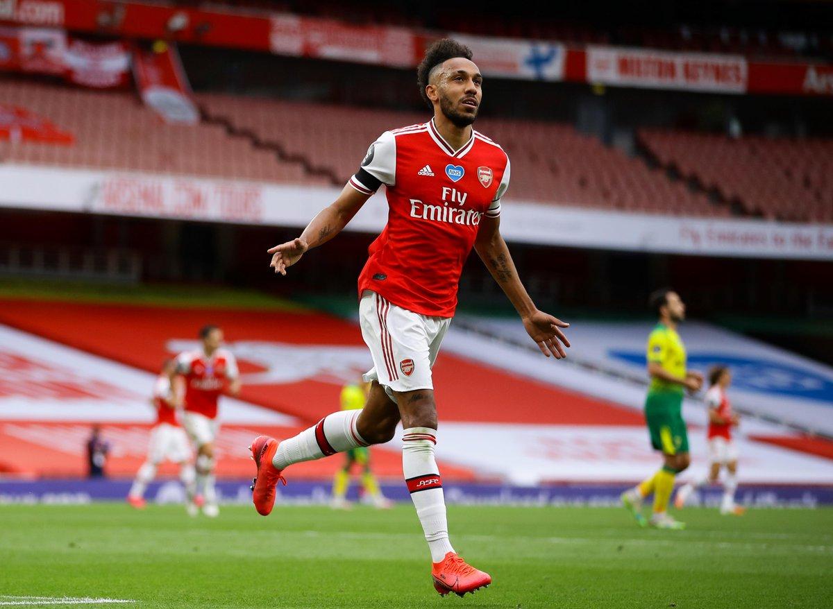 Chấm điểm trận Arsenal 4-0 Norwich: Aubameyang bứt phá
