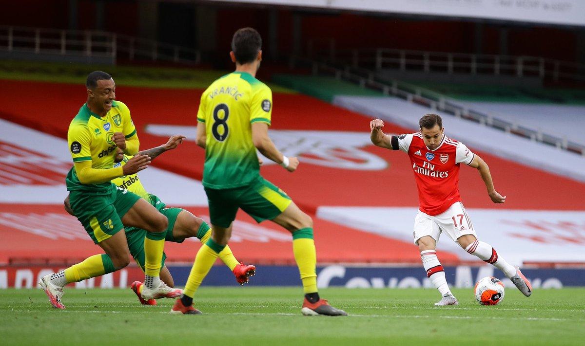 Xem lại Arsenal vs Norwich City, Ngoại hạng Anh – 2/07/2020