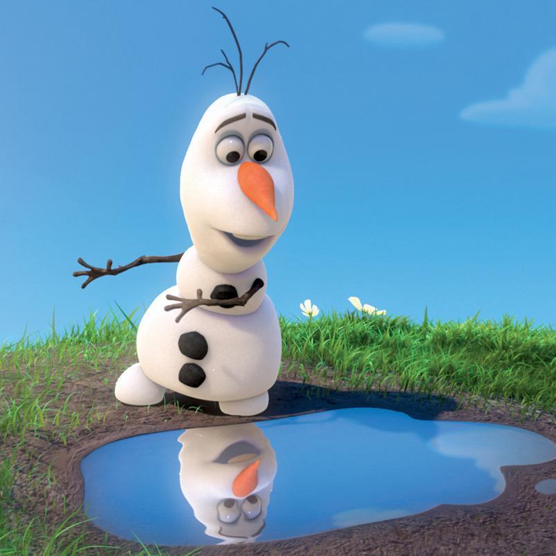 Vous aviez déjà vu un bonhomme de neige en été ? #LaReinedesNeiges https://t.co/rhRZucZc1n
