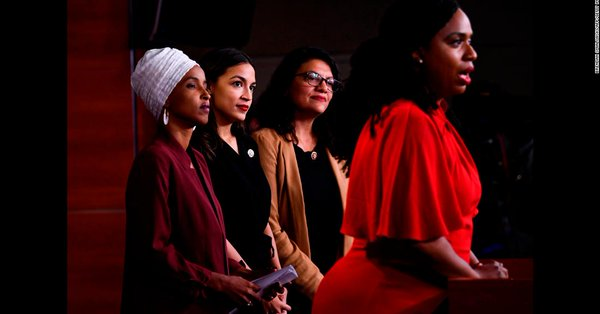 """Reps. Alexandria Ocasio-Cortez, Ilhan Omar, Rashida Tlaib and Ayanna Pressley launch a joint fundraising committee called the """"Squad Victory Fund"""" https://t.co/vWvxhvkuA8 https://t.co/MyimiAzp6h"""