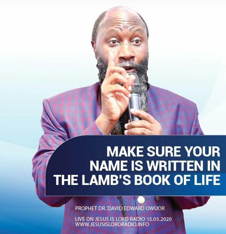The Biggest Question on the Earth Right Now. IS YOUR NAME WRITTEN IN THE BOOK OF LIFE?    ~ courtesy of #GloriousMidweekService  THE KINGDOM OF GOD IS NEAR<br>http://pic.twitter.com/GyHp33Li5J