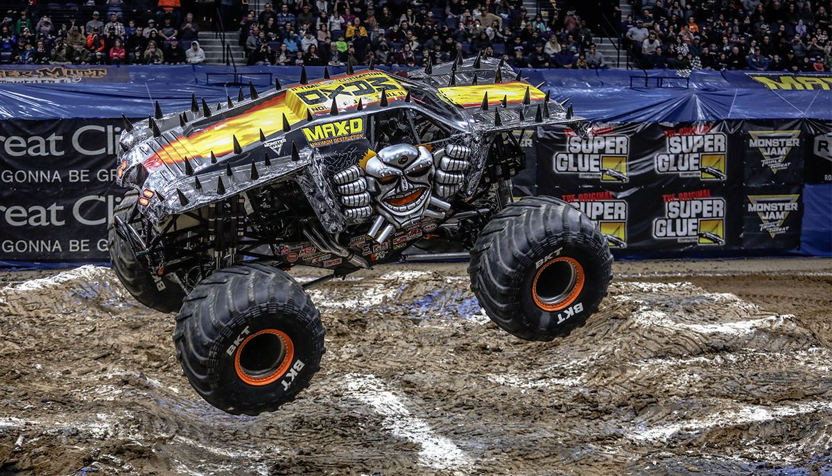 Kenjac On Twitter Grave Digger Was By Far The Coolest Monster Truck Right