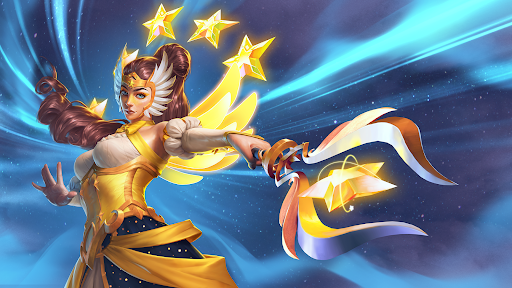 You should be scared! You havent seen the power of the Star Sisters! Battle back your competition in #RadiantStars as Stellar Sentinel Inara! 📺twitch.tv/PaladinsGame