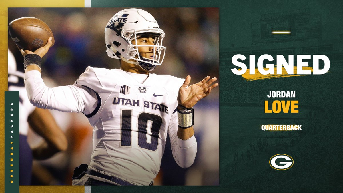 OFFICIAL: #Packers sign first-round quarterback @jordan3love! 📰: pckrs.com/df46s #GoPackGo
