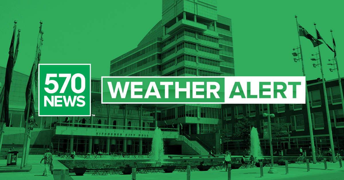 JUST IN: Environment Canada issuing a Heat Warning for Waterloo Region and surrounding areas. A heat event is expected Thursday through Sunday and potentially into early next week. https://t.co/v3hhuDlKRm