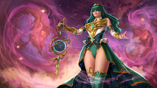 If you say that my performance was stellar, youre going to end up on the wrong side of a black hole. Support your squad with Stellar Mender Seris when she touches down in #RadiantStars! 📺twitch.tv/PaladinsGame