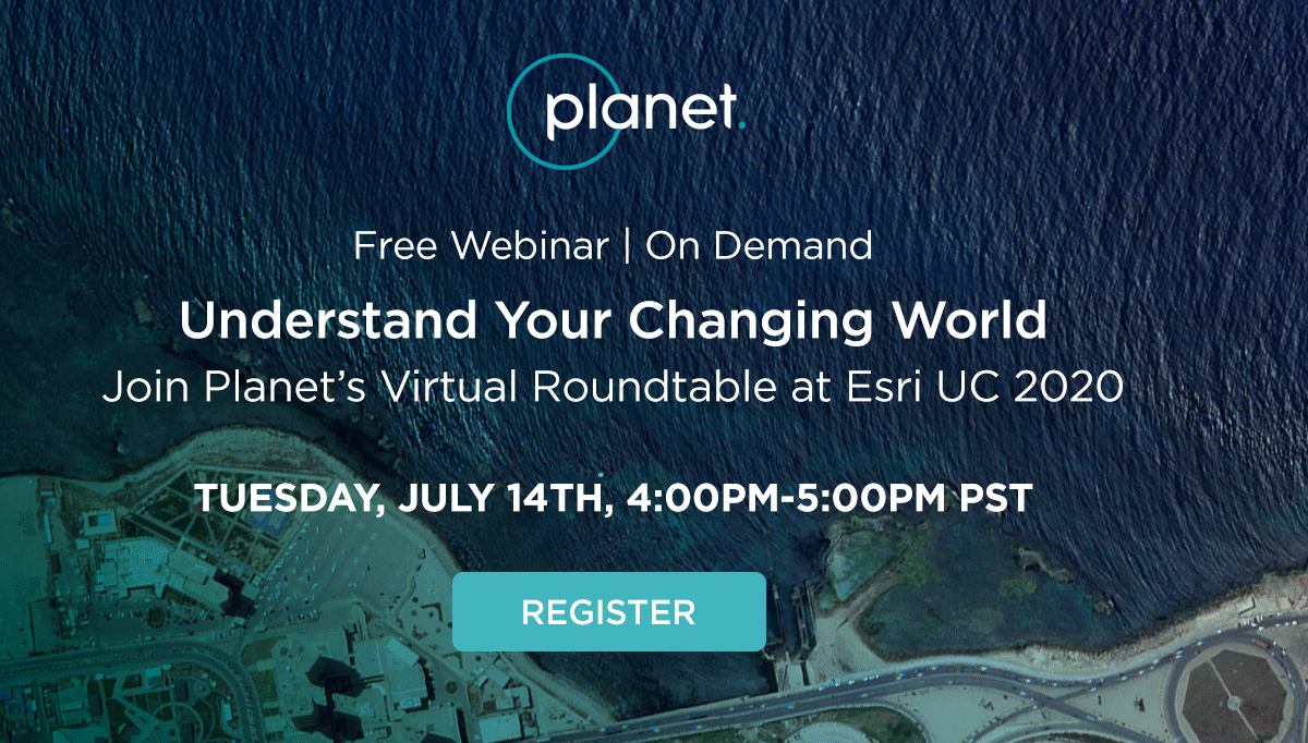 Don't miss our free, virtual roundtable in July! Join us to discuss how government & forestry customers use high-frequency satellite imagery in @Esri GIS platforms to manage public lands, natural resources and timber assets efficiently. Register now:  https://t.co/TF8PHz2Y3u https://t.co/wjPUFTlKzx