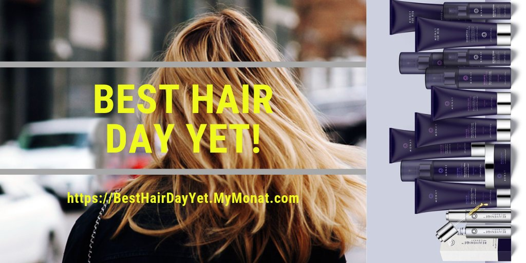 Do your tresses tend to tangle easily and require a bit more moisture to keep your locks silky and smooth?      YOUR BEST HAIR DAY YET!   #monat #hair #HairCare #hairstyle #haircut #blonde #redhead #brunette #black #straight #curly