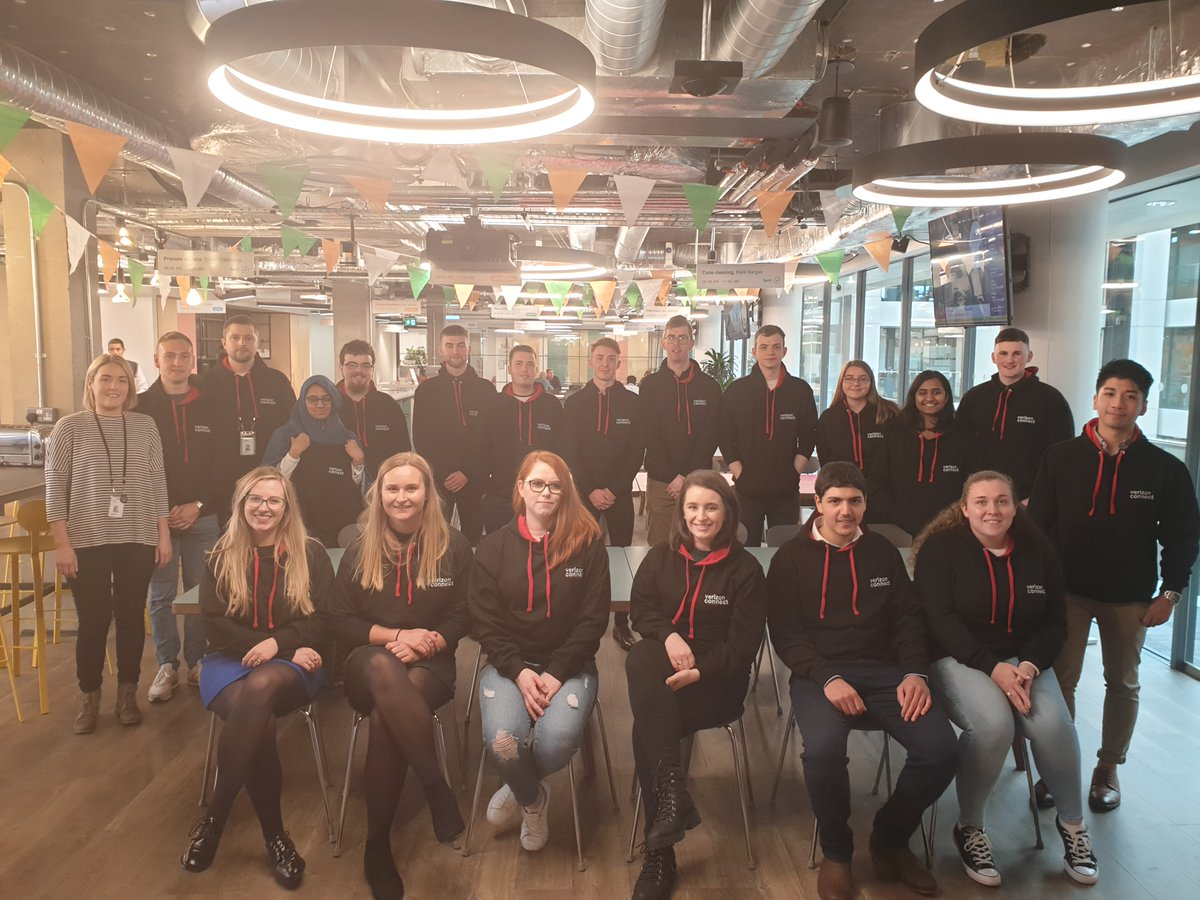 Congratulations to Dublin's 2020 Verizon Connect graduate team for completing their program! From DevOps to UX and Machine Learning, the team has learned from industry experts, and we hope to see them back at Verizon Connect. Explore roles now. #vzcareers https://t.co/R2WcNCN0To https://t.co/8WZSG6by5a
