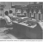 Sophisticated computerized methods were essential in coordinating people and equipment, circa 1969.   GSA is still a leader of innovative technology programs for the federal government. Learn more at https://t.co/ZRnYQsbyW8.