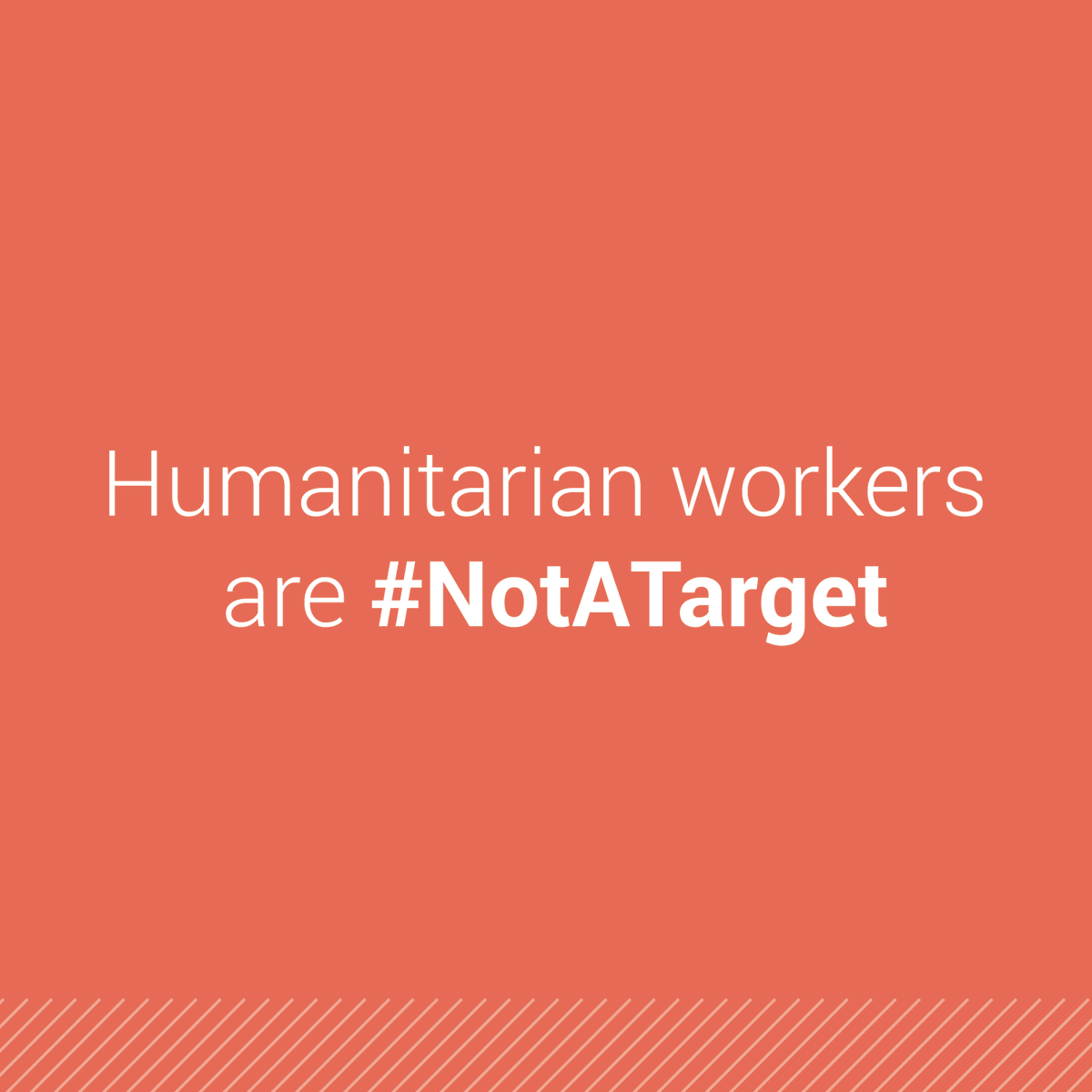 Targeting humanitarian workers is a violation of international humanitarian law, said @UNReliefChief following the killing of an aid worker in South Sudan.  His death brings the number of humanitarians killed in the country to 120 since 2013.  https://t.co/8ruxox2vRI #NotATarget https://t.co/nGQQTZgiYF