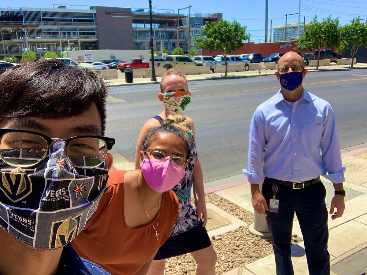 #TeamKnudsen wants to send YOU a friendly  reminder ...    Happy Hump Day!  Wear a Mask  Get tested for #COVID and schedule an appointment: https://www.southernnevadahealthdistrict.org/covid-19-testing-sites/ … #WearAMask #LVWard1 #OnlyVegas pic.twitter.com/ObGHD85F3y – at Las Vegas City Hall
