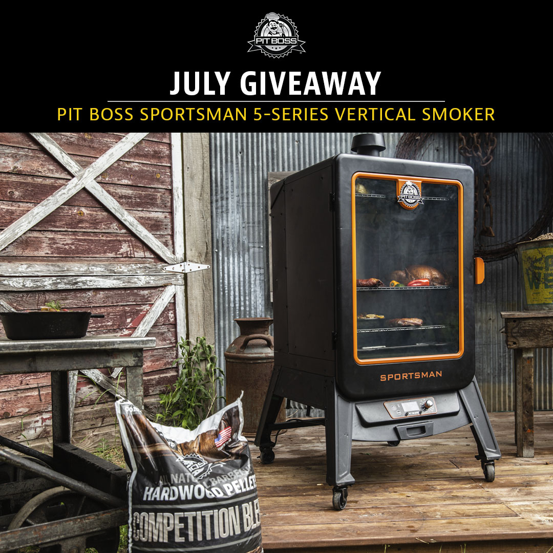 July Giveaway!  Here's how!⁠ 1. LIKE & FOLLOW @PitBossGrills on Twitter 2. Tag 2 friends in the comment 👇 3. For more entries create your best STORY explaining why you need to win using #WhyINeedAPB  Open to Canadian & US residents.  Rules: https://t.co/B0MyiFmor5 https://t.co/qzYt6i3tDH