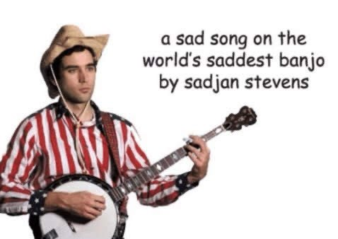 Happy birthday to sufjan stevens sir you own my entire heart