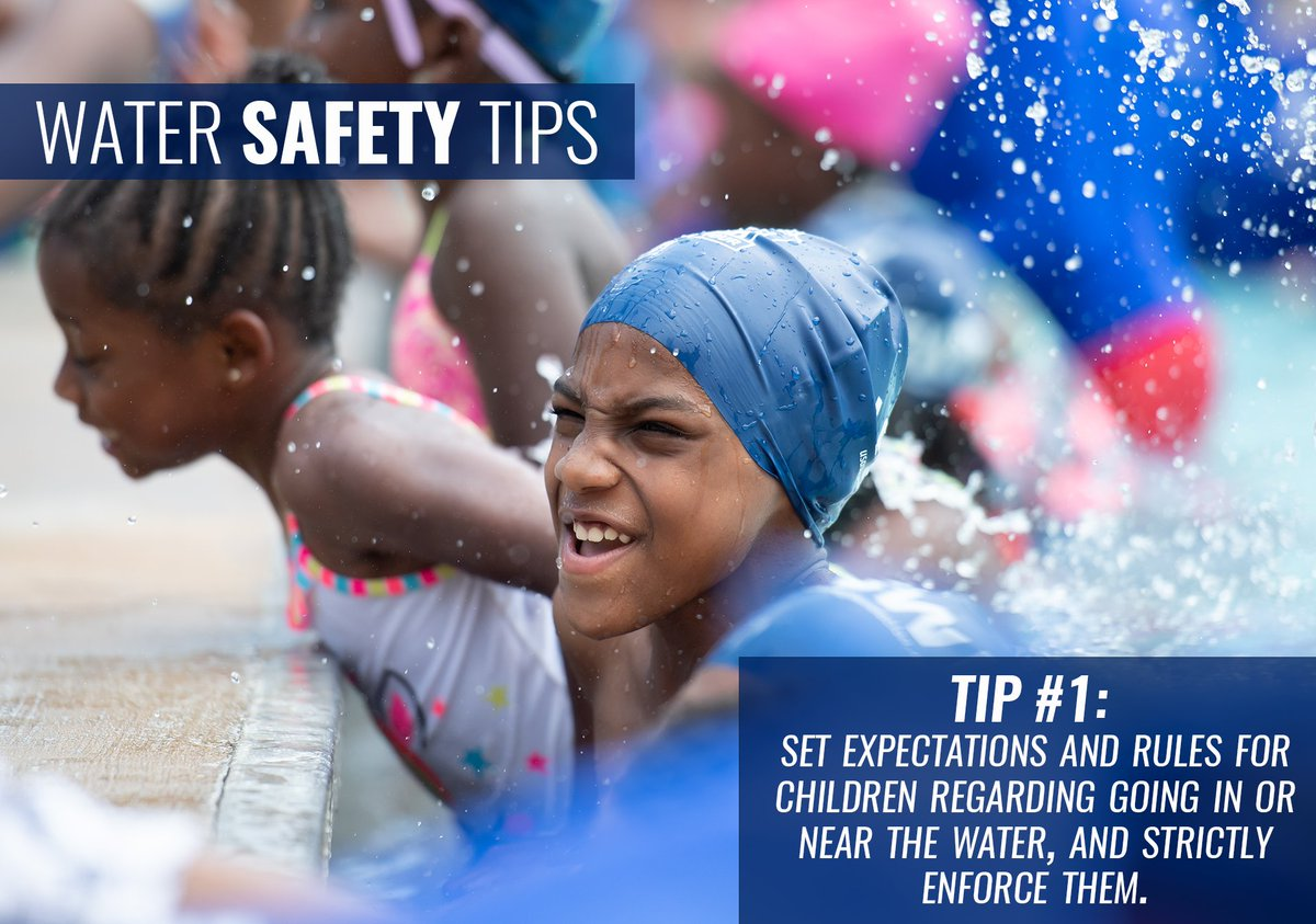 We see a spike in drownings each year around the #FourthOfJuly weekend, let's be diligent in keeping our kids safer in & around the water with these safety tips.  More tips & information » https://t.co/yFRljP27tP https://t.co/DJNpigG6YD