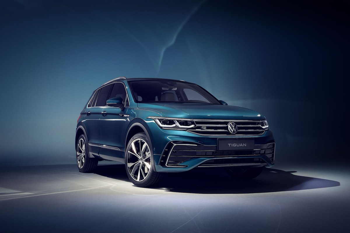 The 2022 @VW Tiguan has a more appealing new front end: https://t.co/SKtmBEI7YS https://t.co/lSMV9UJ2Cq