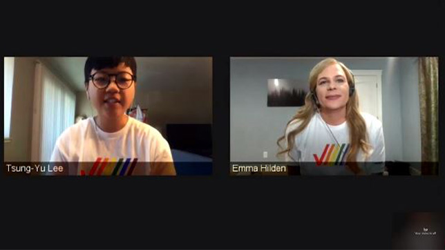 """To close #PrideMonth, V Teamers came together for a """"Voices of Pride"""" broadcast celebrating the diverse talents of the LGBTQ community. Learn about this event and other #Pride activities. #VerizonInclusion #vzcareers https://t.co/ci31gAhji3 https://t.co/Ip0m16ytGN"""