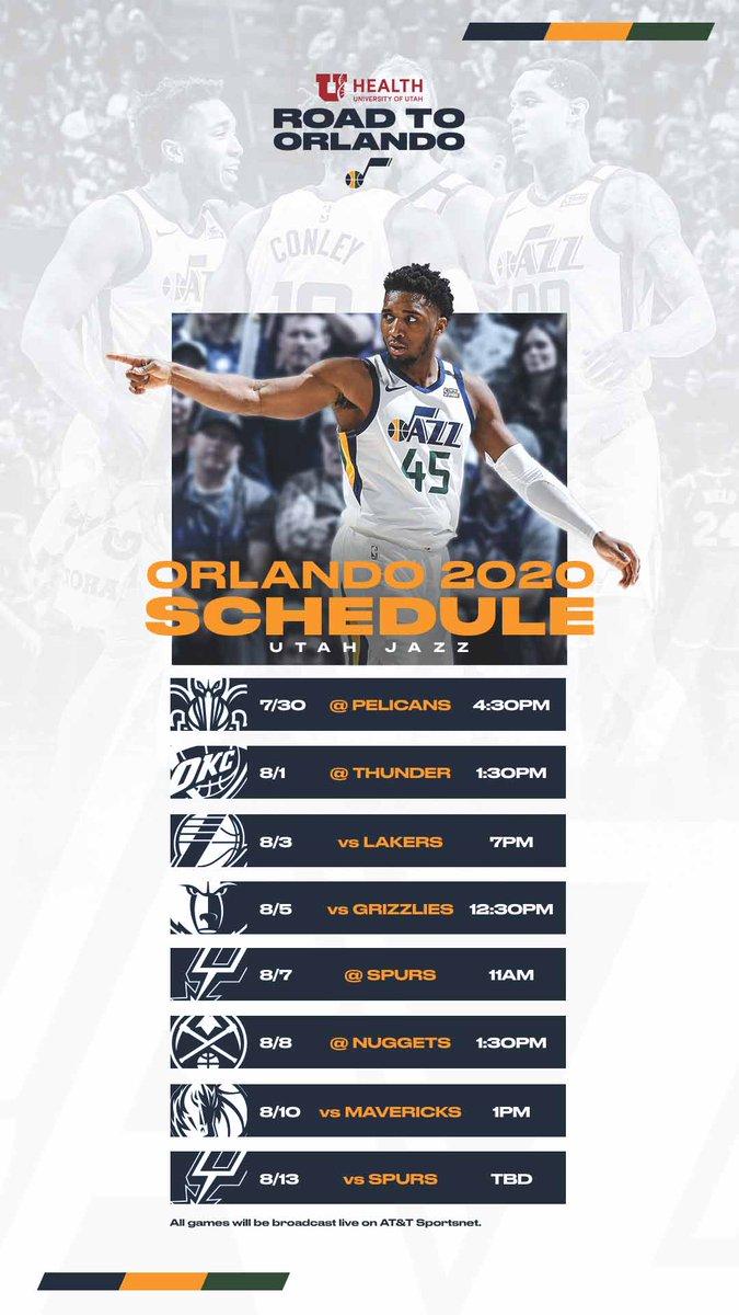 Utahjazz On Twitter The 8 Game Orlando Schedule But Make It 𝔀𝓪𝓵𝓵𝓹𝓪𝓹𝓮𝓻 Wallpaperwednesday Uofuhealth