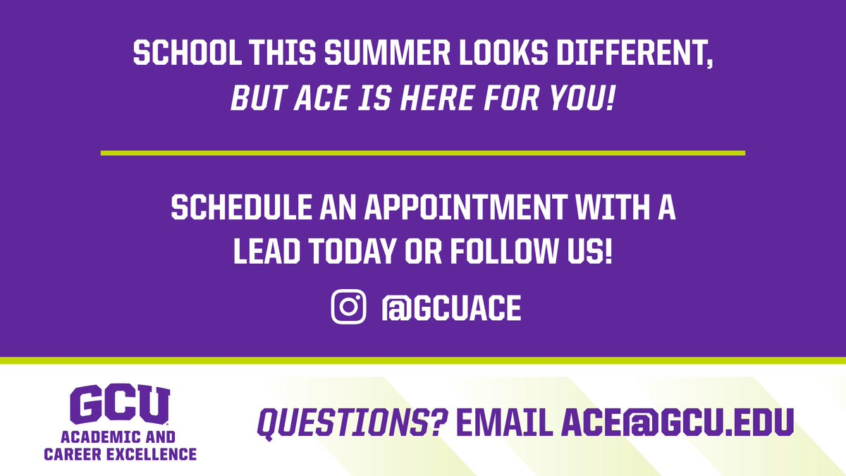 Are you using the summer for career preparation? Get in touch with the ACE Center today! https://t.co/MCdPiw94iA