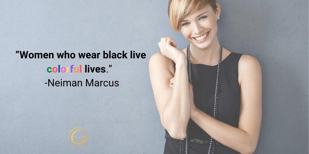 """Women who wear black live colorful lives."" - Neiman Marcus  #fashionlover #fashionstyle #luxury #fashionista #fashiondaily #fashioninspo #luxurylife #luxurious #luxe #mylook #stylish #dress #lbd #blackdress #gorgeoussmile #gardina  #shopping #feelgoodfashion #clothing #lbdpic.twitter.com/SrFdww2iqB"