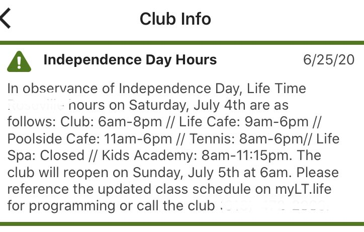@CAgovernor the #lifetimefitness  1 mi. from me reopened 6/12. Parking lot is PACKED every AM by 06:00 & all day. How are so many ppl distancing? Big day planned 4th of July. But to get to the outdoor pool & café, must go thru locker room AND indoor pool area! BAD IDEA! HELP!! <br>http://pic.twitter.com/zAP09jE3j1