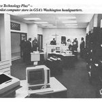 "Check out GSA's 1983 ""Office Technology Plus"" pilot store for federal agencies to buy computers.   Today, GSA offers a full suite of IT & telecommunications products, services, and solutions from highly qualified industry partners at https://t.co/W0i3ONtKjP.  @GSA_ITC"