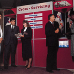 GSA employees in 1987 promoted GSA's Cross-Servicing Program, which provided federal agencies a full range of services, including accounting, payroll, or personnel.   Learn about GSA's modern Shared Services at https://t.co/wWHdjl3bjq.