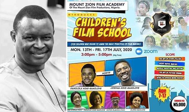 """REGISTRATION LINK FOR """"CHILDREN'S FILM SCHOOL"""" RELEASED https://t.co/jLZnE9vMnl  @gospelfilmsng @jay_mikee @mikebamiloye @dbamiloye @mztelevision #gospelfilmsng https://t.co/jDotexUwKL"""