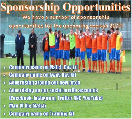 *𝐒𝐩𝐨𝐧𝐬𝐨𝐫𝐬𝐡𝐢𝐩 𝐎𝐩𝐩𝐨𝐫𝐭𝐮𝐧𝐢𝐭𝐲* If you are interested in supporting your local club and would like to know more please contact Scott Greenway on cuxton91reserves@gmail.com.  We look forward to working with you to help us evolve our community of Cuxton. 🟠🔵 https://t.co/bF2IGqI1MM
