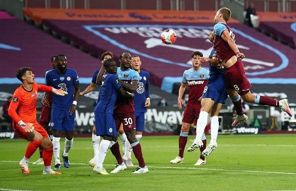 West Ham sorprende a Chelsea con triunfo de último minuto, los Blues buscaban el tercer lugar de la tabla