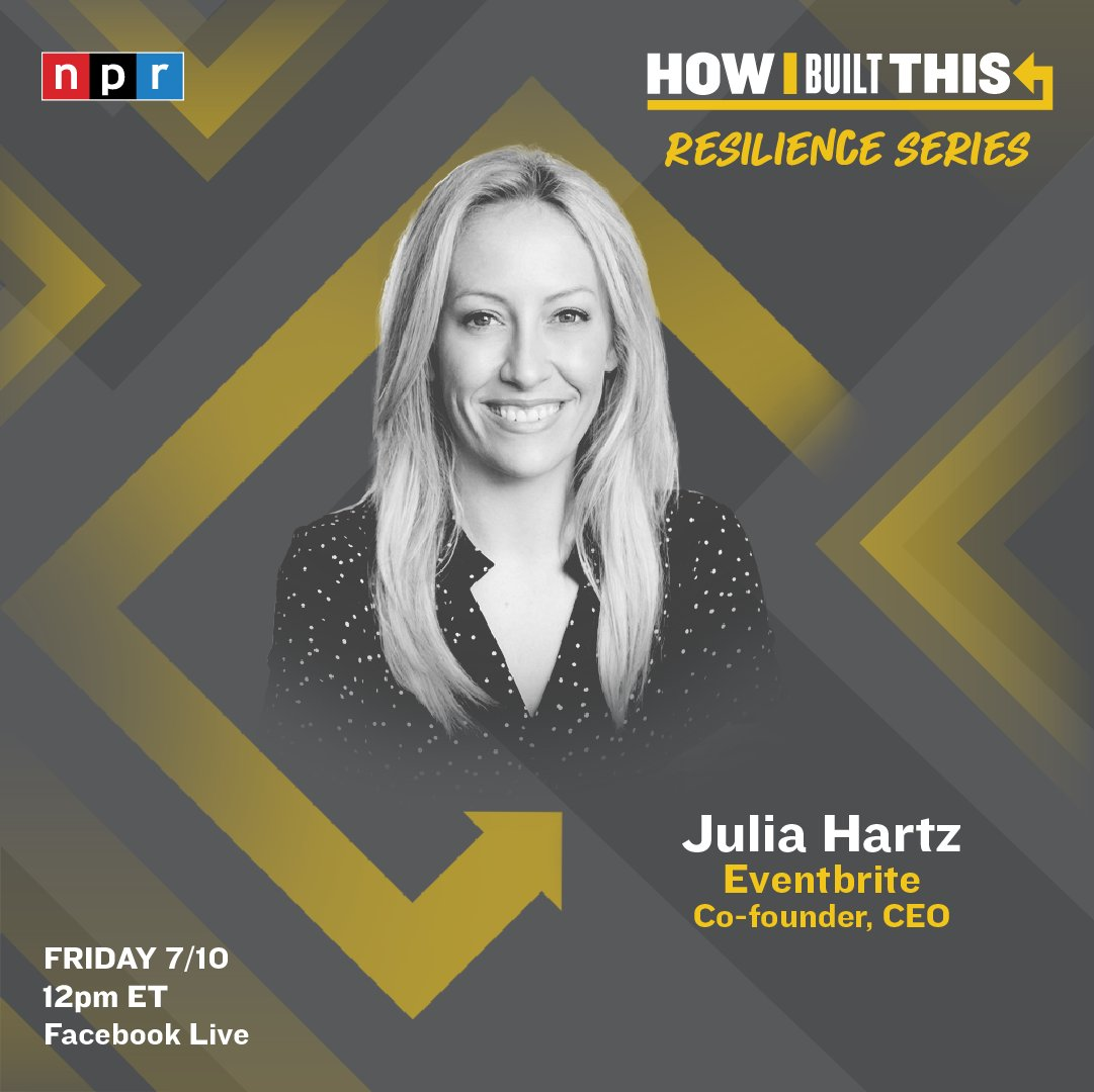Something for you to look forward to!  @Blavity founder and CEO @MorganDeBaun  and @Eventbrite founder and CEO @JuliaHartz   Both will be LIVE on our How I Built Resilience series next week 🎥 https://t.co/2IUKmXMj7i