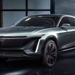 Image for the Tweet beginning: ICYMI, Cadillac Lyriq electric crossover