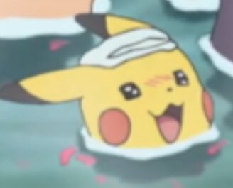 Oh to be a Pikachu relaxing in a hot spring https://t.co/5xbxMEc0fm