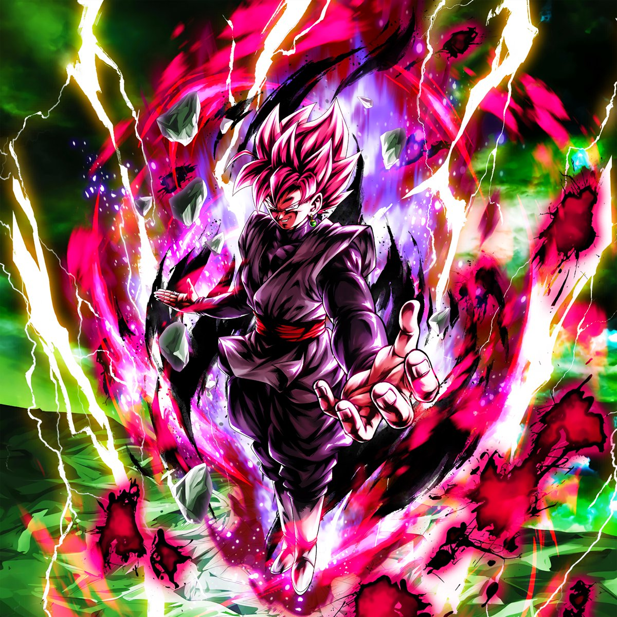 Hydros On Twitter Super Saiyan Goku Black Rose Character Art 4k Pc Wallpaper 4k Phone Wallpaper Dblegends Dragonballlegends