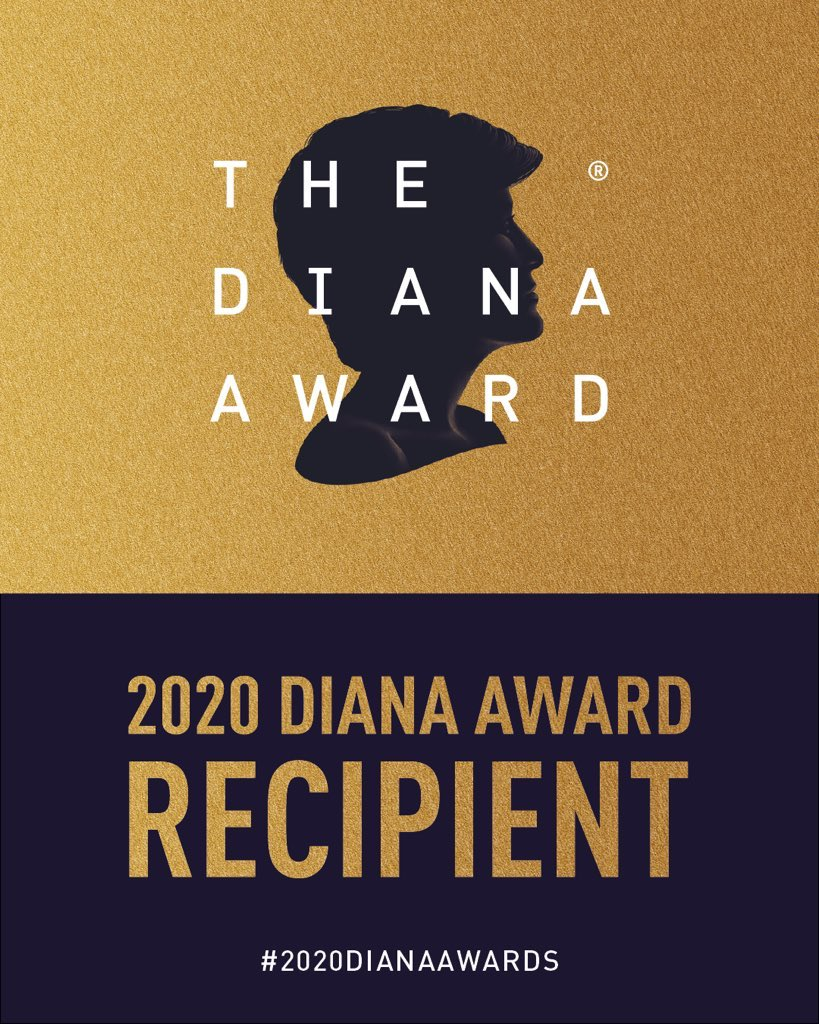 🚨PERSONAL ANNOUNCEMENT🚨  Im humbled to announce I am a recipient of the  Diana Award 2020 for my work on ending violence against women and girls with @_IntegrateUK   I even got a special shout out from Prince Harry. I am so so grateful for such an incredible award @DianaAward. https://t.co/dr69fGIERs