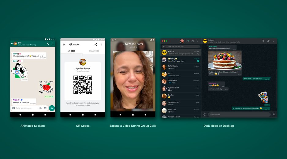 WhatsApp just made its group video chats a little less