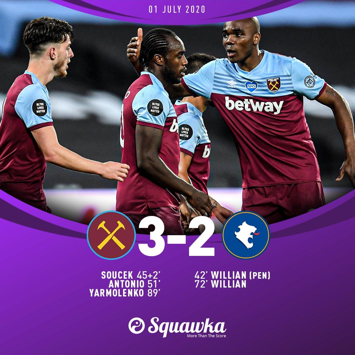 Chấm điểm trận West Ham 3-2 Chelsea - 2