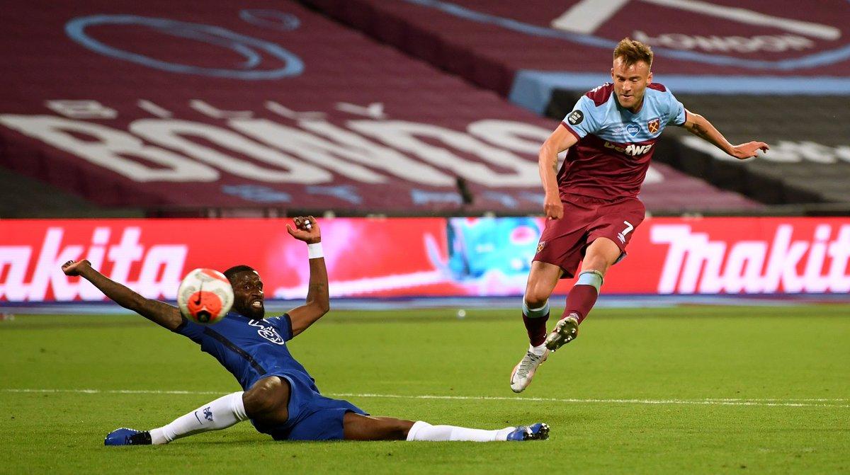 Xem lại West Ham vs Chelsea, Ngoại hạng Anh – 2/7/2020