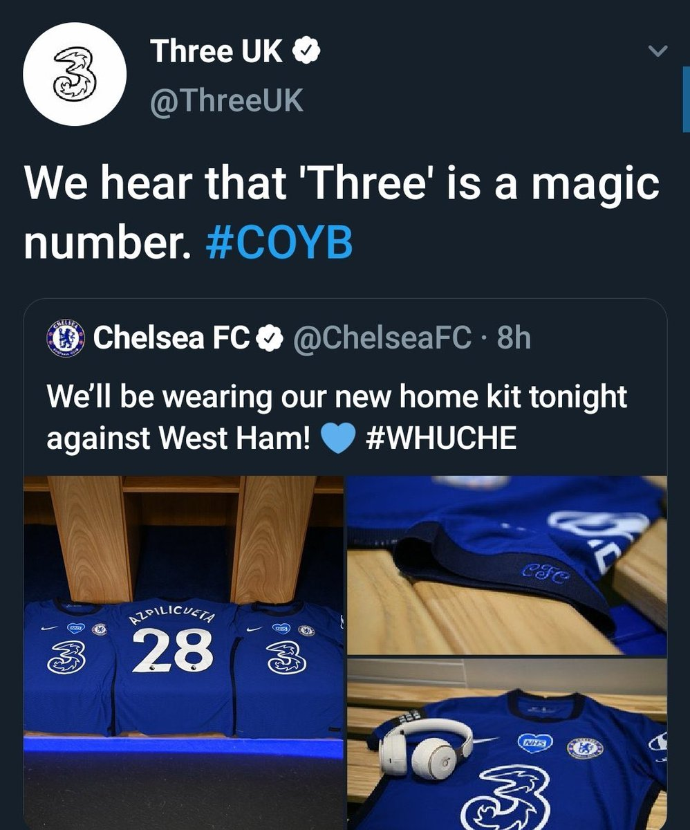 ✅ Theee Points ✅ Three Goals ✅ Stopped Chelsea going third  It's certainly magic lads... https://t.co/Evu4A0KYc6