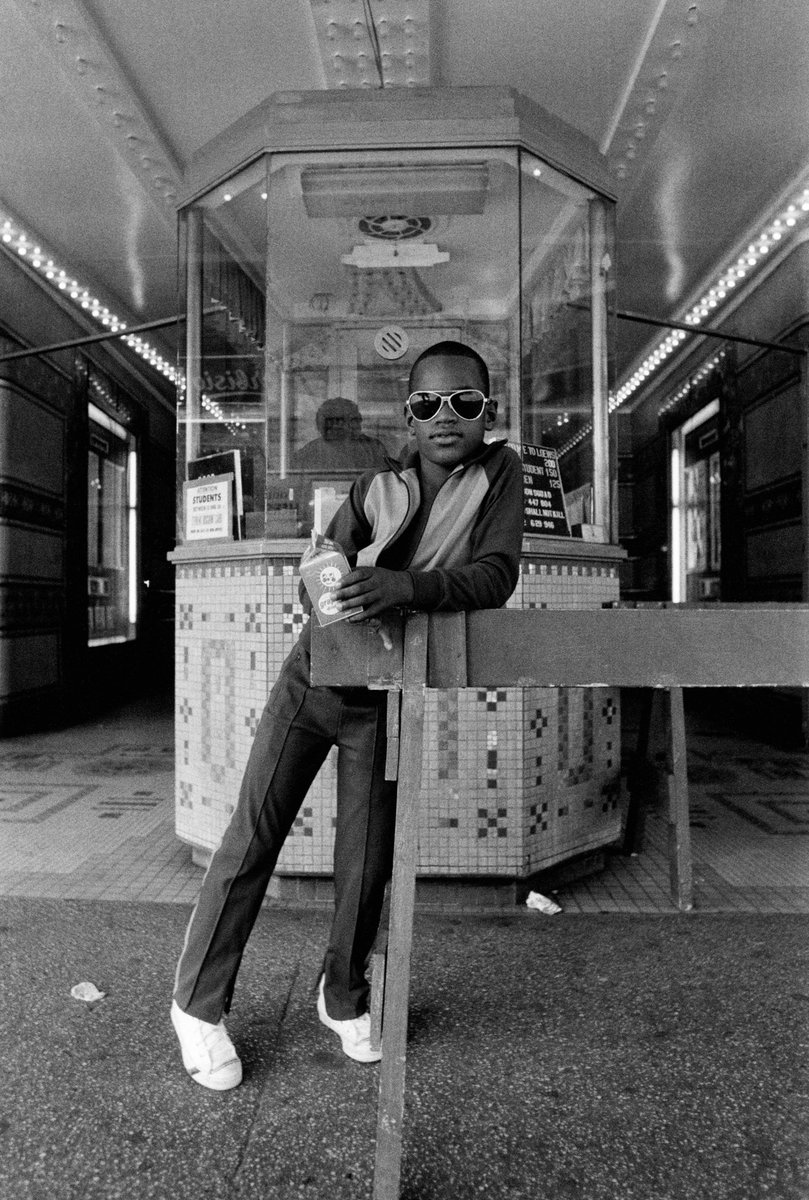 Harlem, Manhattan (1970s). Photographed by Dawoud Bey.